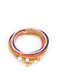 Juicy Couture | Multicolor Set Of 10 Charmy Hair Elastics | Lyst