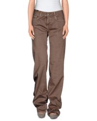 Notify - Gray Casual Pants - Lyst