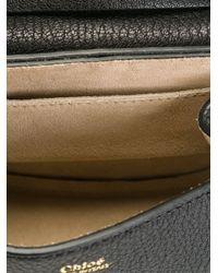 Chloé - Black Drew Leather Shoulder Bag - Lyst