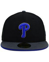 KTZ | Black Philadelphia Phillies G-Flip 59Fifty Cap for Men | Lyst