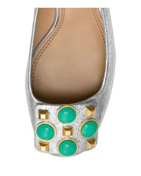 Tory Burch - Metallic Vanna Pump - Lyst