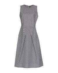 Roberto Musso - Black Knee-length Dress - Lyst