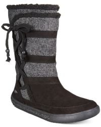 Rocket Dog | Black Palmetto Mid-shaft Sweater Boots | Lyst
