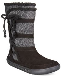 Rocket Dog - Black Palmetto Mid-shaft Sweater Boots - Lyst