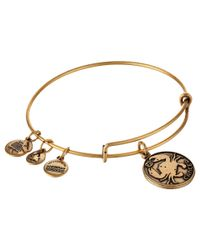 ALEX AND ANI | Metallic Vintage 66 Treasure Trove Wrap Bangle | Lyst
