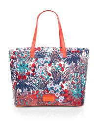 Marc By Marc Jacobs - Multicolor Whats T Printed Transparent Tote - Lyst