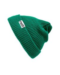 Neff | Green 'fold' Beanie for Men | Lyst