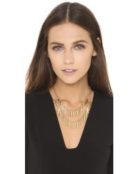 Adia Kibur | Metallic Clara Necklace - Gold | Lyst