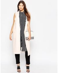 ASOS | Natural Curve Sleeveless Duster Jacket | Lyst