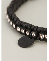 Philippe Audibert | Black 'broome' Beaded Bracelet | Lyst