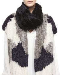 Vince | Natural Cashmere Loop Scarf | Lyst