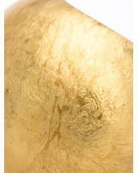 Monies - Metallic Chunky Ring - Lyst