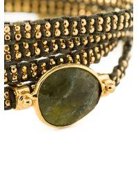Gas Bijoux | Green 'Fever' Multi-Strap Bracelet | Lyst