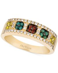 Le Vian | ® Multicolor Diamond Band (1/2 Ct. T.w.) In 14k Gold | Lyst