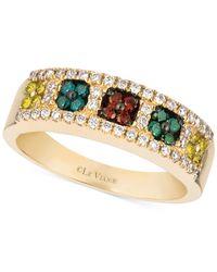 Le Vian - ® Multicolor Diamond Band (1/2 Ct. T.w.) In 14k Gold - Lyst
