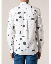Soulland - Black 'Nasa' Shirt for Men - Lyst