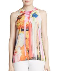 Clover Canyon - Multicolor Printed Sleeveless Tank - Lyst