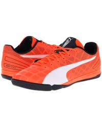 PUMA | Orange Evospeed Sala 3.4 for Men | Lyst