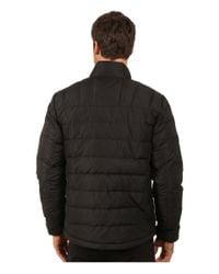 Spyder - Black Dolomite Full Zip Down Jacket for Men - Lyst