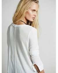 Free People | White We The Free Womens We The Free Every Girl Henley | Lyst