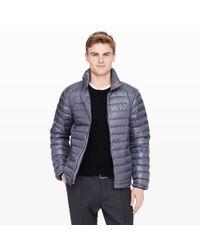 Club Monaco | Gray Packable Down Jacket for Men | Lyst