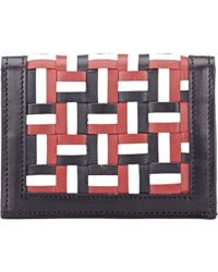 Thom Browne - Multicolor Woven Folding Card Case for Men - Lyst