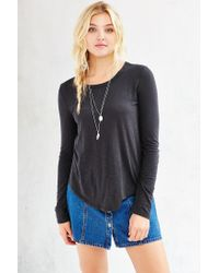 Truly Madly Deeply - Black Weekdays Tee - Lyst