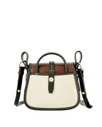 Dooney & Bourke | Brown Verona Christina Leather Crossbody Bag | Lyst