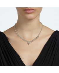 John Lewis - Metallic Czech Stone Necklace With Drop Earrings Set - Lyst