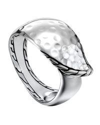 John Hardy | Metallic Palu Kapal Silver Ring | Lyst