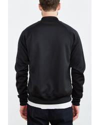 Adidas | Black Bonded Tech Superstar Track Jacket for Men | Lyst