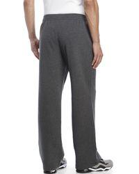 New Balance | Gray Essential Fleece Sweatpants for Men | Lyst