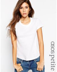 ASOS   White The Crew Neck T-shirt   Lyst