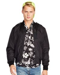 Polo Ralph Lauren | Black Triton Bomber Jacket for Men | Lyst