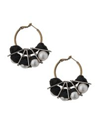 Lanvin - White Earrings - Lyst