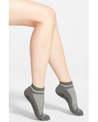 Zella - Gray Barre Socks - Lyst