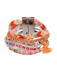 Hipanema - Orange Bracelet - Lyst