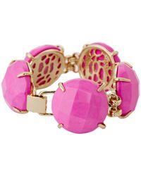 Kendra Scott | Pink Cassie Bracelet | Lyst