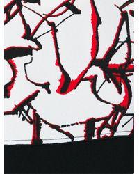 Proenza Schouler - Red Splatter Print Shift Dress - Lyst