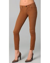 Citizens of Humanity | Brown Thompson Skinny Jeans | Lyst