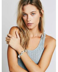 Free People - White Arrow Divine Womens Ocean Vibes Bracelet - Lyst