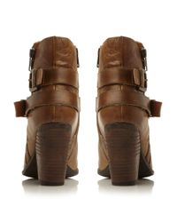 Steve Madden | Brown Nother Western Low Boots | Lyst