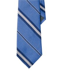 Lauren by Ralph Lauren | Blue Regency Multi-striped Repp Tie for Men | Lyst