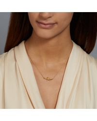 Alex Monroe   Yellow Love Bird Necklace   Lyst