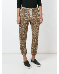 Bliss and Mischief - Black Cropped Track Pants - Lyst