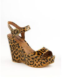 Lucky Brand | Multicolor Lindey Wedge Sandals | Lyst