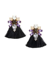 H&M | Black Earrings | Lyst