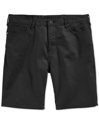 Hurley | Black Dri-fit Slim Twill Shorts for Men | Lyst