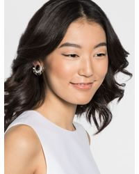 BaubleBar Metallic Clip-on Parasol Studs