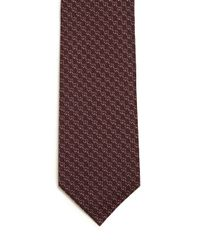 Gucci | Purple Interlocking G Striped Tie for Men | Lyst